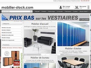 Mobilier-stock : Mobilier de bureau et d'industrie pour les professionnels