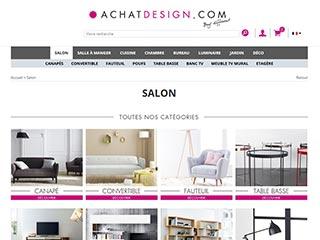 Achatdesign, spécialiste du meuble design contemporain