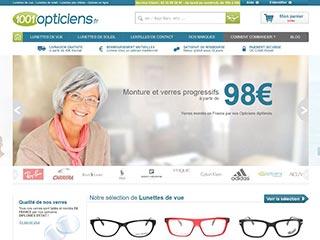 1001 Opticiens, lunettes de soleil et lunettes de vue