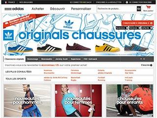 Shop Adidas, la boutique en ligne de la marque