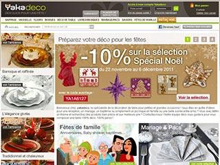 Yakadeco : Décoration de table et accessoire déco