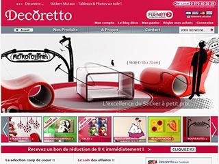 Décoretto, boutique en ligne d'accessoires déco