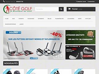 Cote-golf, magasin de golf en ligne