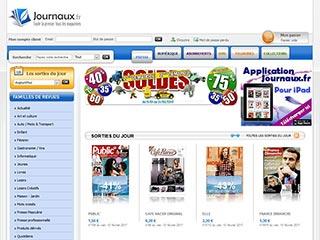Journaux, vente de magazine et journaux en ligne