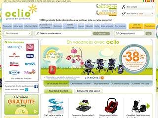 Oclio, la boutique numéro 1 de la puériculture en ligne