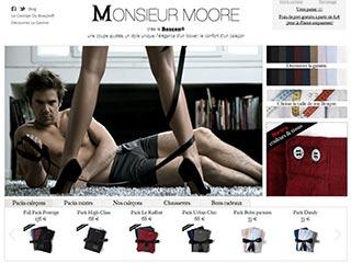 Monsieur Moore, sous-vêtement pour homme