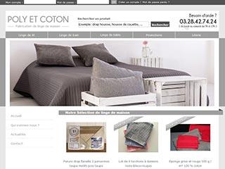 Poly et Coton, linge de lit