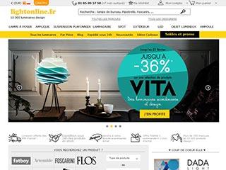 LightOnline, boutique de luminaires design en ligne
