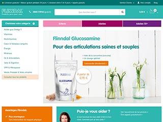 Flinndal, vente en ligne de compléments alimentaires