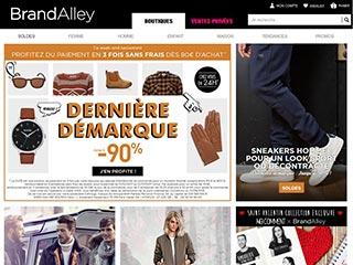 Brandalley, vêtements grandes marques et vente privée