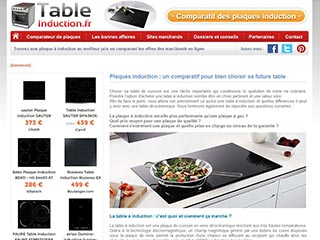 Le meilleur des tables à induction