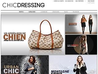 Chic Dressing, ventes privées dédié aux Créateurs en vogue