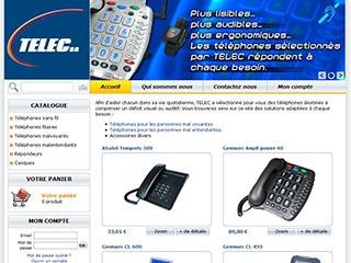 Telec, téléphone à grosses touches