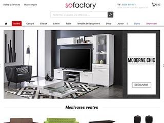 Sofactory, le spécialiste du mobilier design et élegant