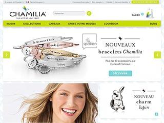 Chamilia, boutique de vente de bijoux personnalisés