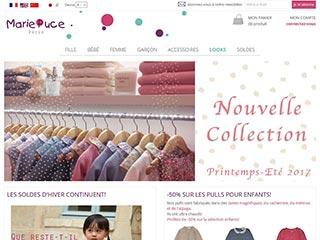 Marie Puce, créateur de vêtements pour enfants chics et tendance