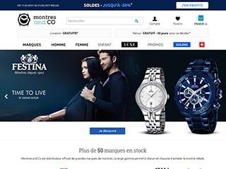 Montres & Co, boutique de montres en ligne
