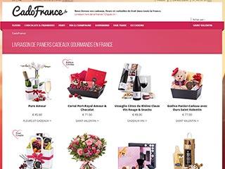 CadoFrance : Livraison de cadeaux partout en France