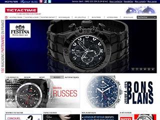 TictacTime, boutique de la montre pour elle et lui