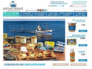 Armor Direct, produits de la mer en direct de Bretagne