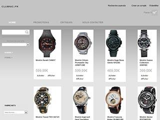 Clubnic : Large gamme de montres, bijoux, sacs